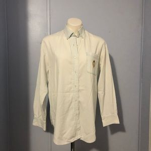Ralph Lauren Embroidered Logo Button Down Shirt S
